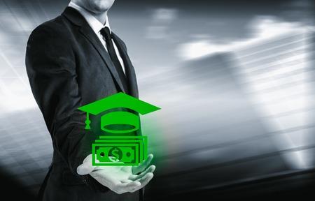 The business concept of obtaining success through training. Reklamní fotografie