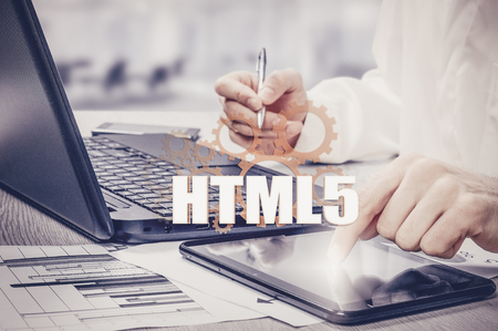 Technology, Internet and network security HTML5