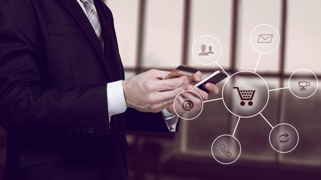 stockmarket: Online banking payment communication network digital technology internet wireless application development mobile smartphone apps computing