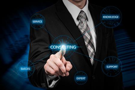 Expert Advice Consulting Service Business concept. Reklamní fotografie