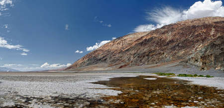 Death Valley, Badwater Basin Stock Photo - 11533272