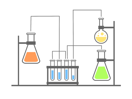 various: Laboratory illustration with various equipment.