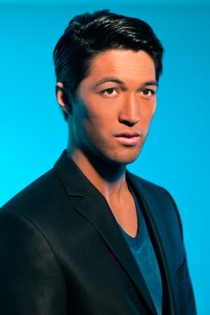 Handsome asian man in suit. Summer fashion. Studio shot. Stock Photo - 17802755