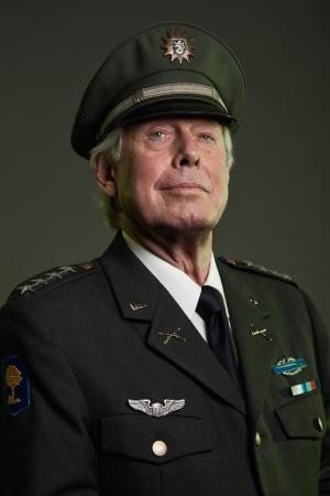 US military general in uniform. Studio portrait. Stock Photo - 17890187
