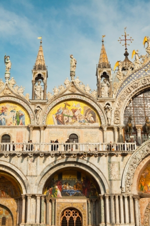 patriarchal: Cathedral of San Marco in Venice. Italy. Stock Photo