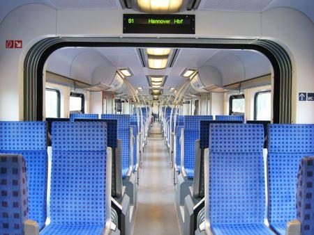 De tren de los ferrocarriles alemanes