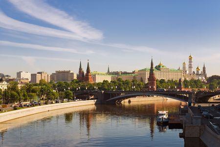 Russische Kremlin van Moskou