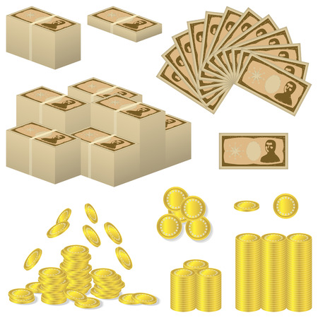 money Stock Vector - 32848303