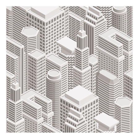 construction firm: building Illustration