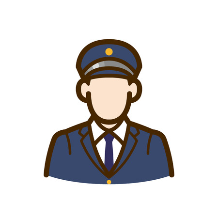 police , guard Иллюстрация