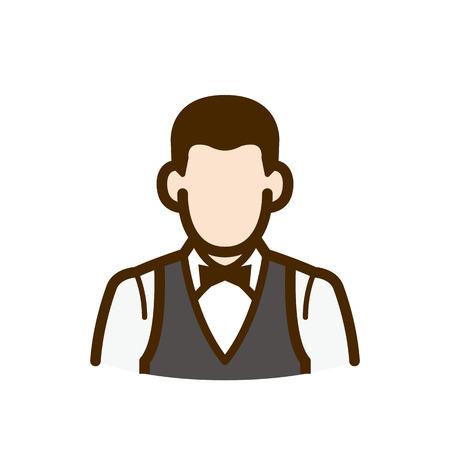 bartender: Barman Illustration