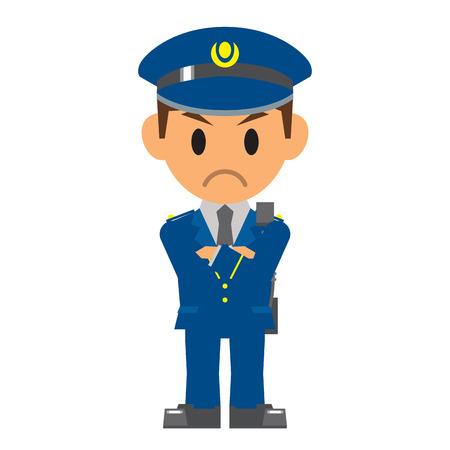 police uniform: Police , Security guard