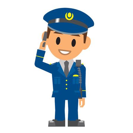 Police , Security guard Vector