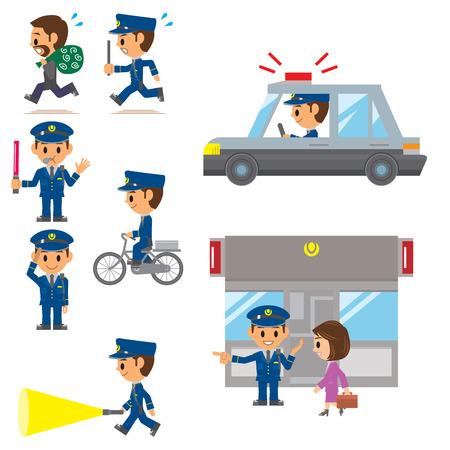 Polizei, Wachdienst