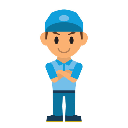 swagger: Delivery man Illustration