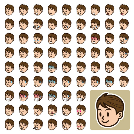 face expression Vector