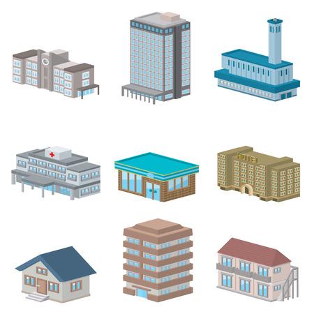 building  イラスト・ベクター素材