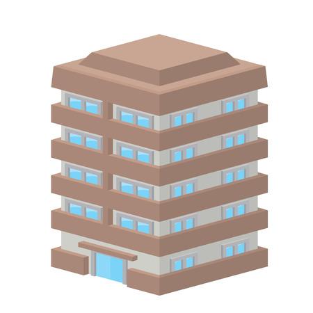 mansion  イラスト・ベクター素材