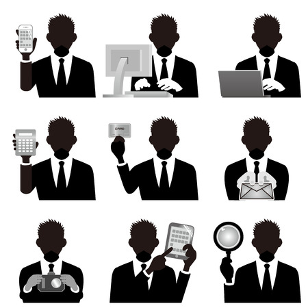 pc icon: business man