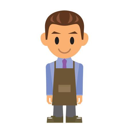 oficinista: Empleado Vectores