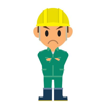 indignation: worker