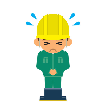 apologize: worker