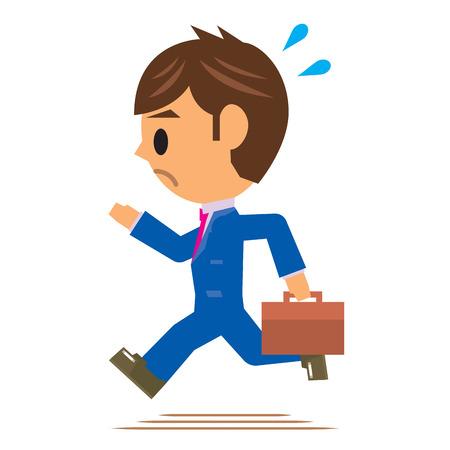tardiness: business man