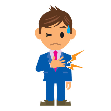 myocardial infarction: business man