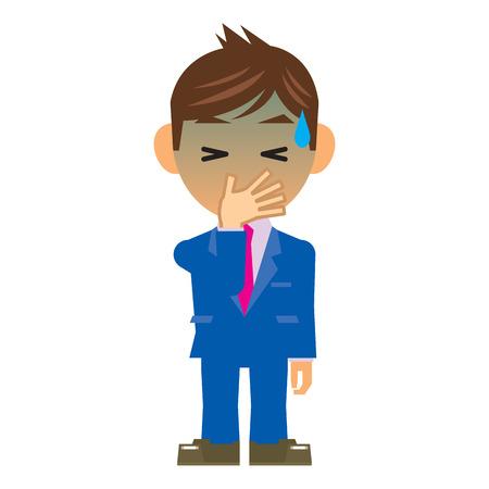 nausea: business man