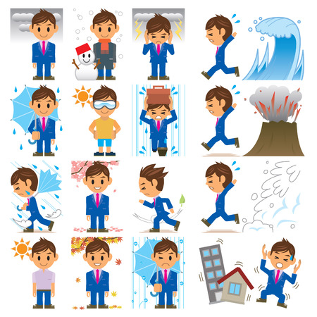 typhoon: business man