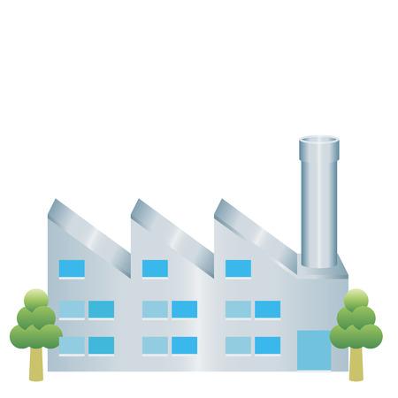 Icône d'usine Banque d'images - 34129381