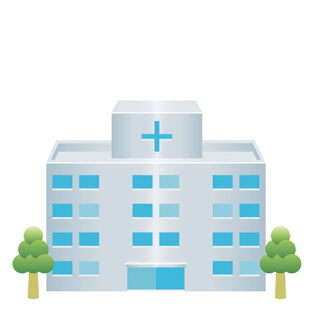 building structure: hospital icon