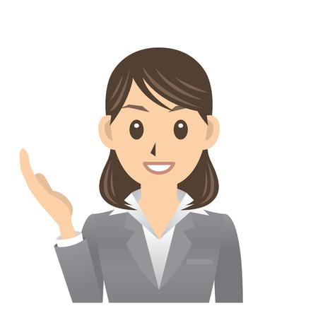business woman Çizim