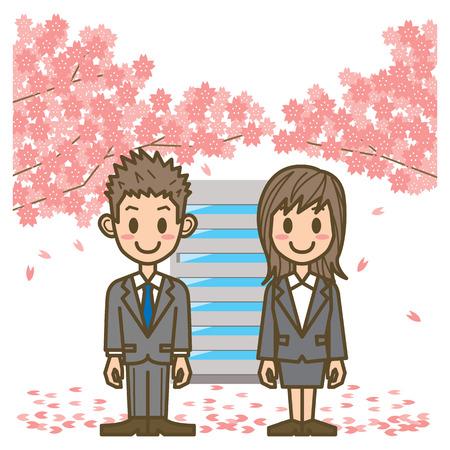 femme d affaire asiatique: homme d'affaires et femme d'affaires