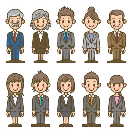 man symbol: business people