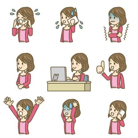woman Иллюстрация