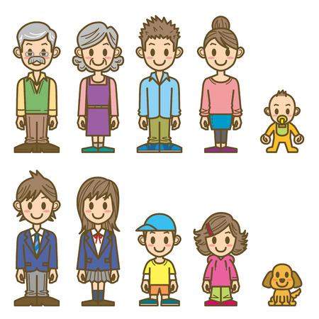 Familia Foto de archivo - 35034919