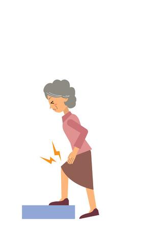 facial painting: grandma