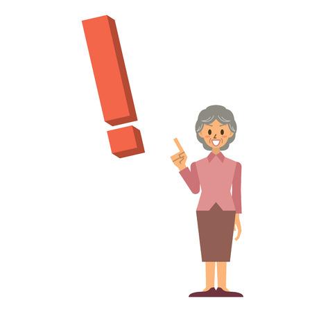 stumble: grandma