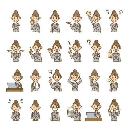 business woman Illustration