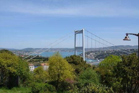 Bosphorus view from spring season