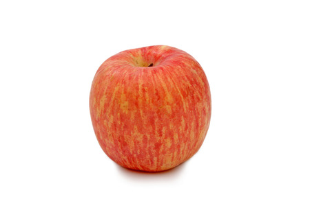 agricultural essence: An apple on a white background Stock Photo