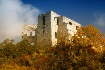 kazimierz dolny: Ruins of the castle in Kazimierz Dolny. Poland.