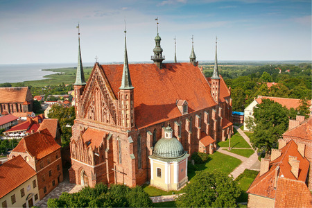 Frombork Catthedral, place where Nicolaus Copernicus was buried.  Poland