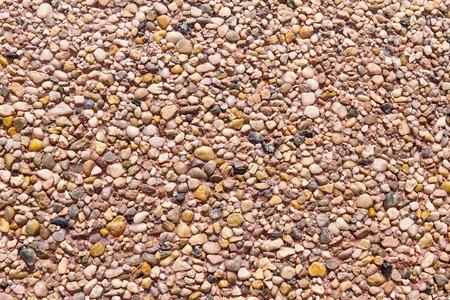 heterogeneous: Many stones texture 1. Different types of stones. Stock Photo