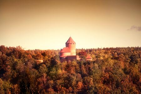 sigulda: Castillo de Turaida en Sigulda Letonia
