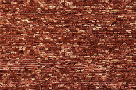paredes de ladrillos: Antecedentes de rojo, pequeño textura de los ladrillos. Foto de archivo