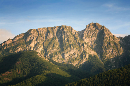 giewont: Giewont  - the popular mountain  in polish Tatra Mountains, called sleeping knight.