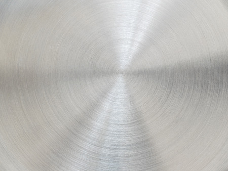 scratched: Metal texture background. Scratched circles. Stock Photo
