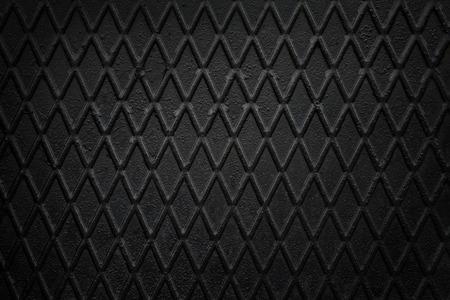 non: Black, non slip steel texture. Background of metal.
